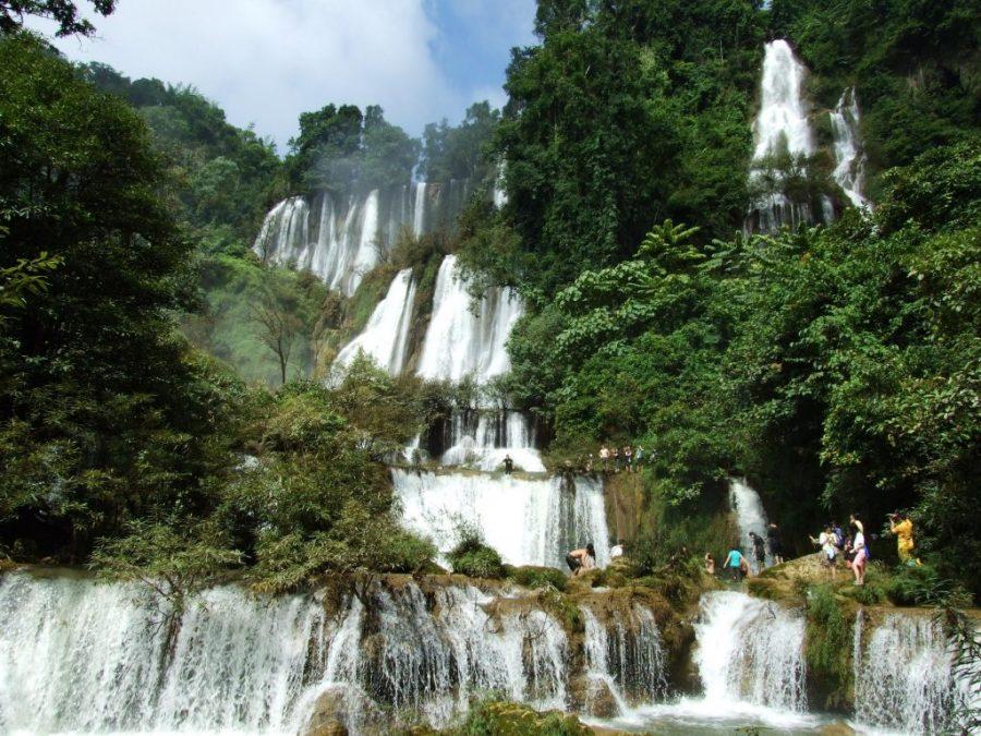 Visitar Cascadas en Chiang Mai - Mae Ya Waterfall - Doi Inthanon