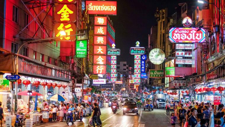 Barrio Chinatown de Bangkok