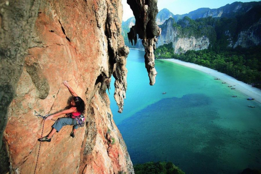 Escalada en Tonsai Beach - Krabi