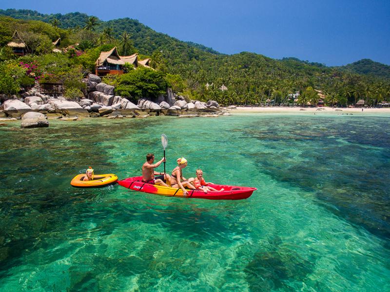 Kayak en Koh Lipe