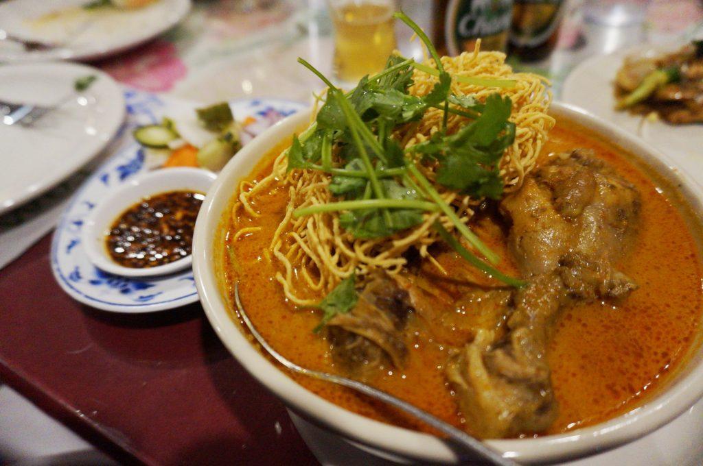 Khao Soi - Comida Tailandesa