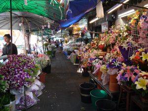 Mercado de las Flores de Bangkok