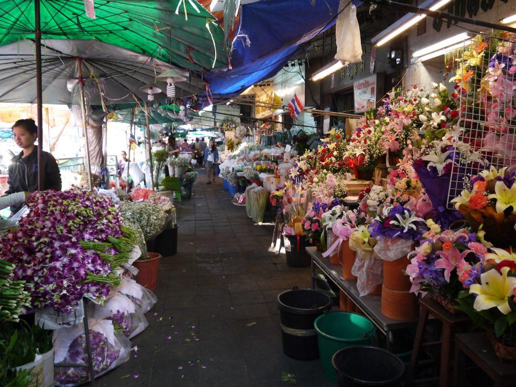 Mercado de las Flores Bangkok