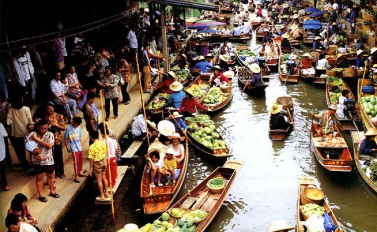 Mercado Flotante - Qué Ver y Hacer en Pattaya