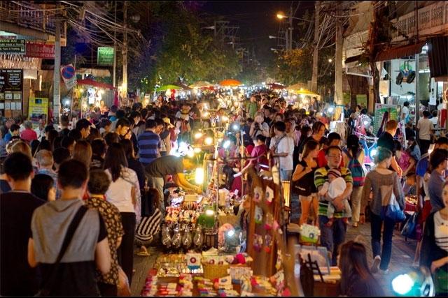 Mercado Nocturno de Chiang Mai - Domingo