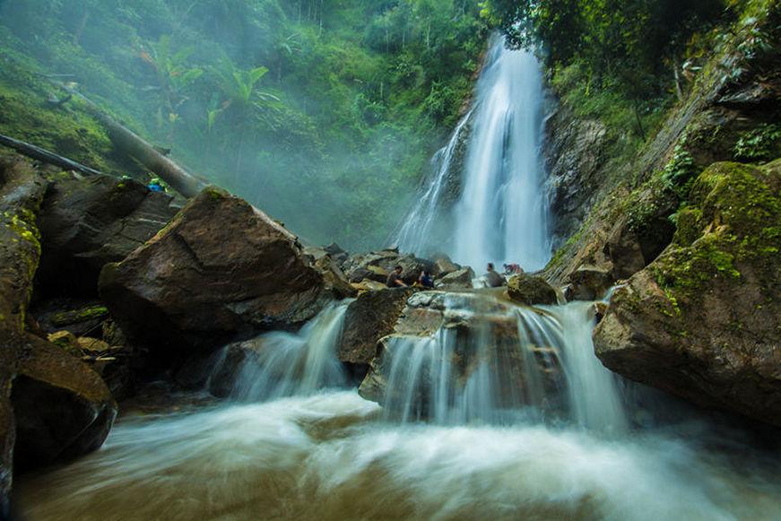 Parque Khun Korn - Las Cascadas de Chiang Rai