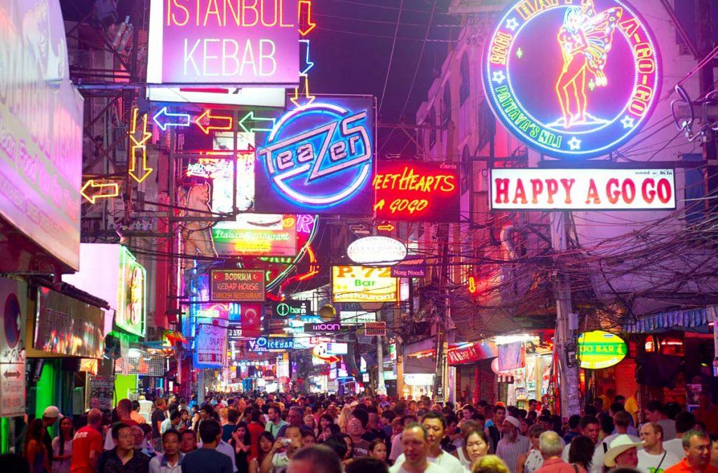 Pattaya Walking Street - Qué Ver y Hacer en Pattaya