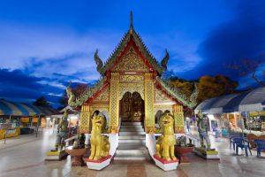 Templo Phra That Doi Kham de Chiang Mai