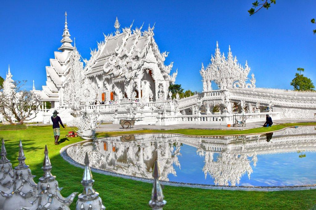 Cómo ir de Chiang Mai a Chiang Rai - Templo Blanco de Chiang Rai