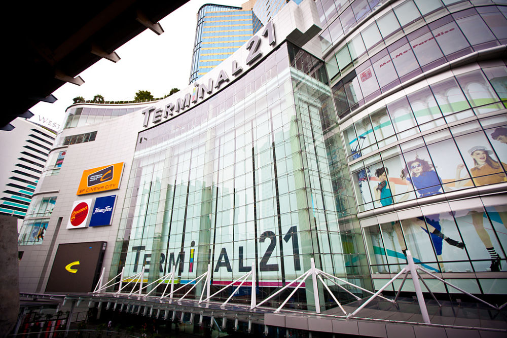 Centro Comercial Terminal 21 - Bangkok