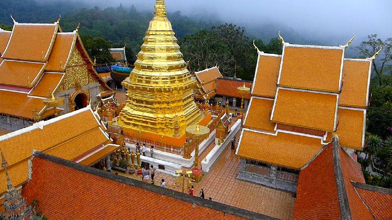 Templo Doi Suthep - Que ver y hacer en Chiang Mai