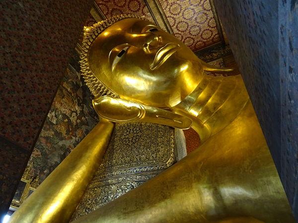 Cara Buda Reclinado Bangkok