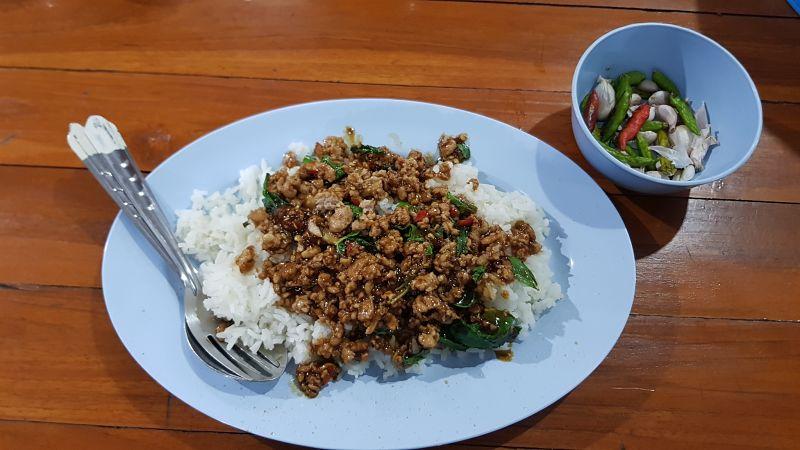 Comida Tailandesa - Pad Ka Prao