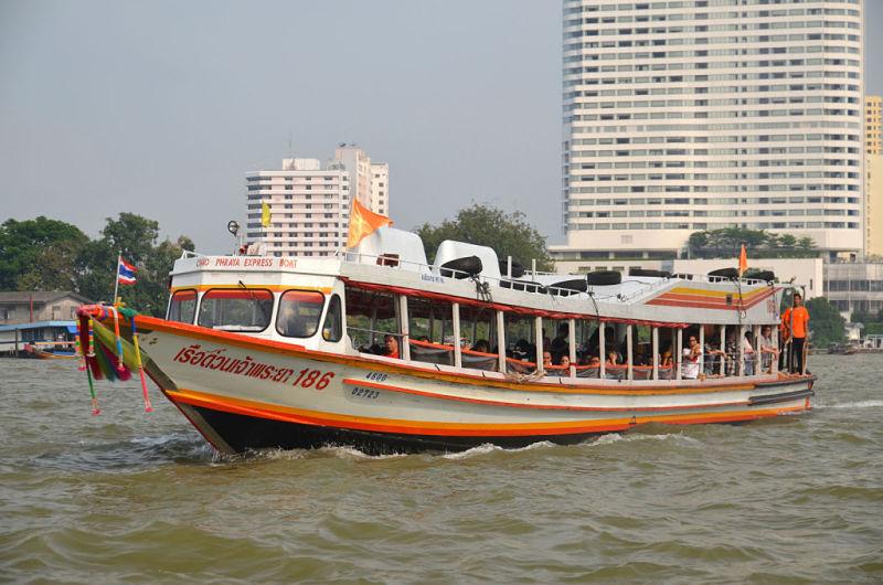 Servicio Público Transporte Río Chao Phraya