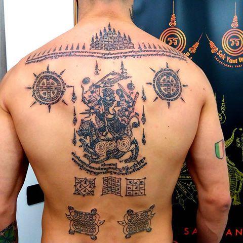 Tatuajes Tailandeses Sagrados - Sak Yant
