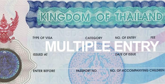Visa Tailandia Entrada Multiple
