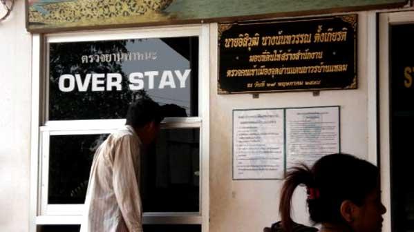 Visado Caducado en Tailandia