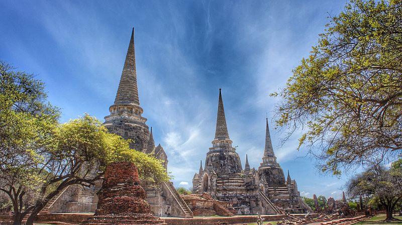 Ayutthaya - Wat Phra Si Sanphet - Tailandia