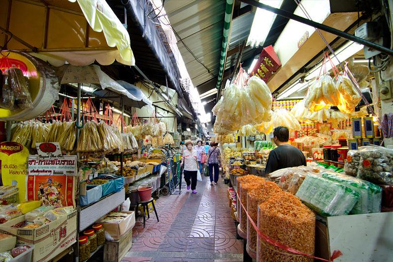 Barrio Chinatown de Bangkok - Mercado de Sampeng