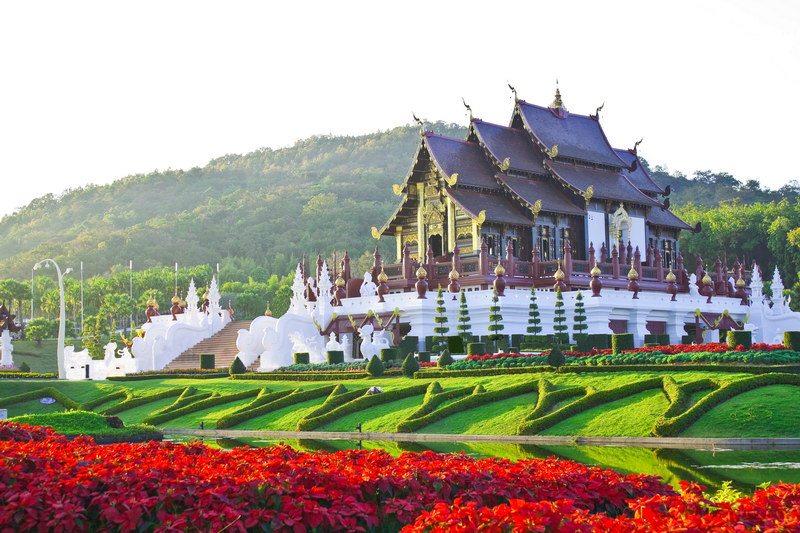 Bhubing Palace - Palacio de Invierno Real - Chiang Mai