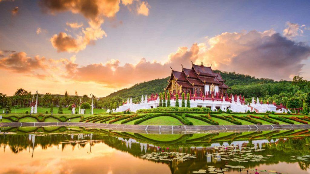 Excursión al Bhubing Palace - Palacio de invierno de Chiang Mai