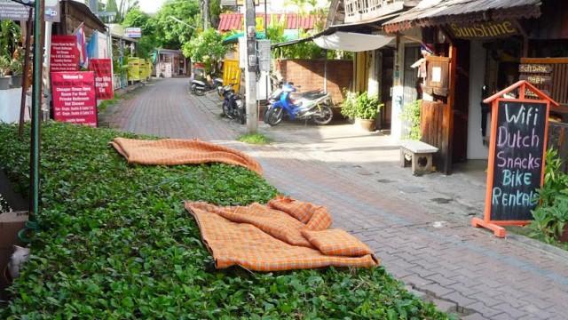 Callejones del Centro de Chiang Mai