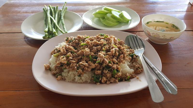 Comida Tailandesa - Minced Pork Salad