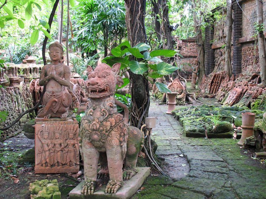 El Jardín de Terracota de Chiang Mai