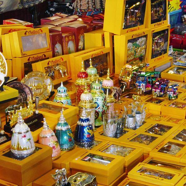 Mercado Chatuchak en Bangkok - Productos