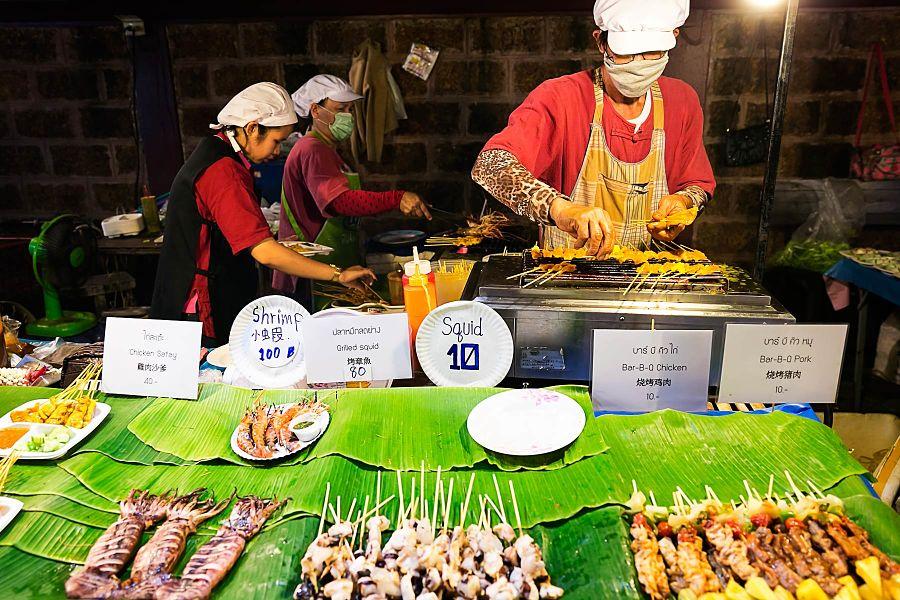 Mercado Nocturno Chiang Mai - Calamares