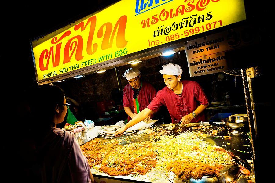 Mercado Nocturno Chiang Mai - Pad Thai