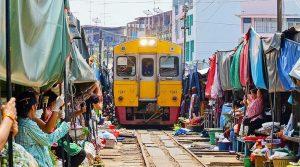 Mercado del Tren de Bangkok - Mae Klong