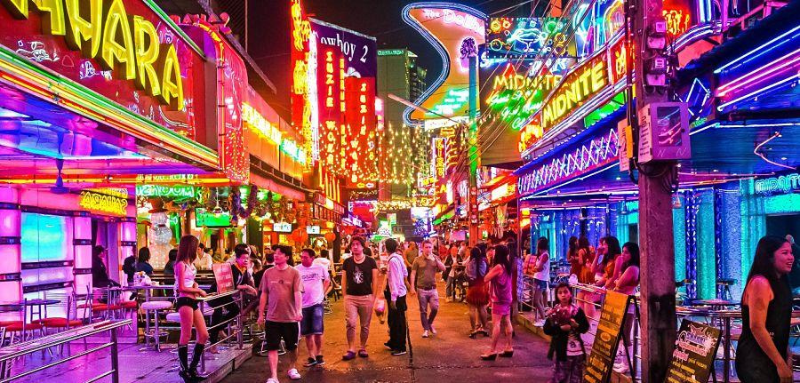 Salir de fiesta en Bangkok - Soi Cowboy