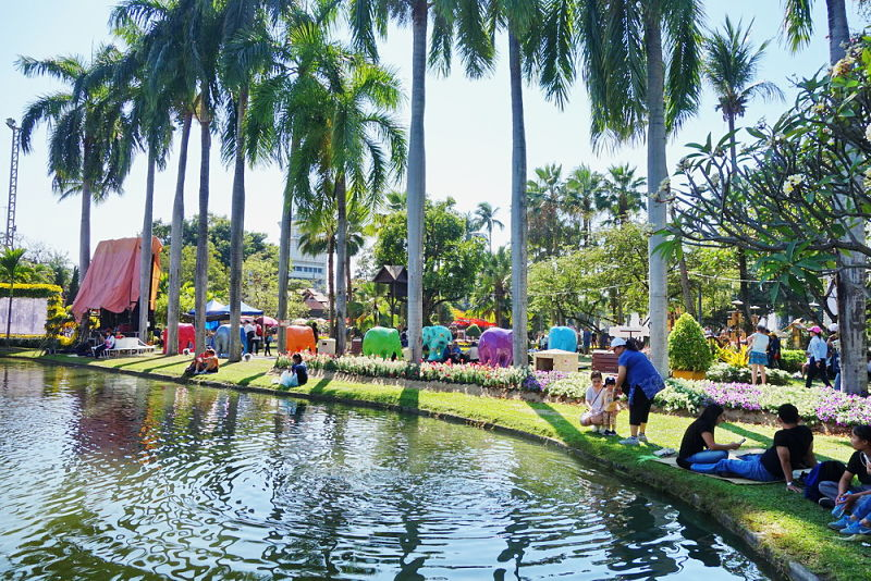 Suan Buak Park - Centro de Chiang Mai