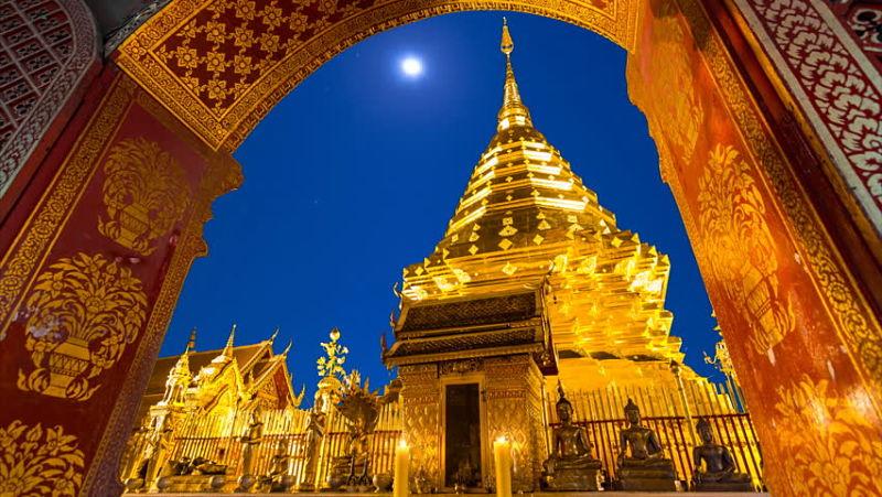 Templo Doi Suthep - Chiang Mai - Entrada