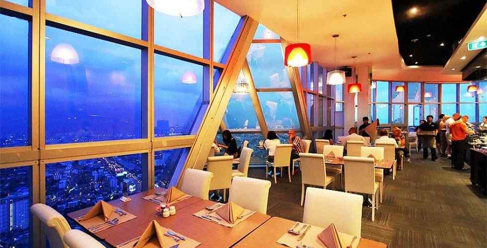 Torre Baiyoke - Restaurante