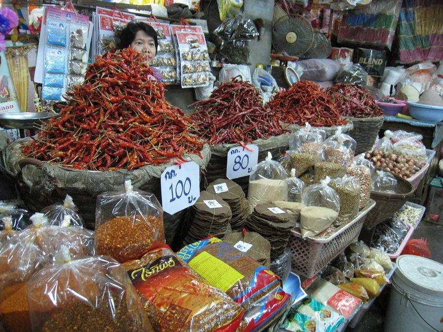 Warorot Market - Chiang Mai - Especias