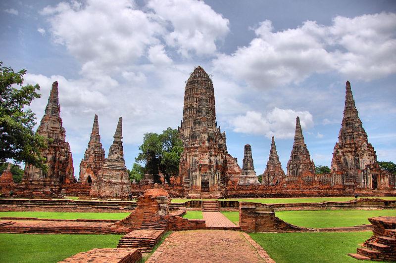 Wat Chaiwatthanaram - Ayutthaya - Tailandia