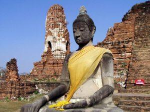 Wat Maha That en Ayutthaya