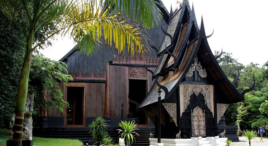 Casa Negra de Chiang Rai - Museo Baandam