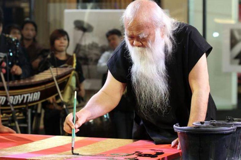 Autor de la Casa Negra de Chiang Rai - Thawan Duchanee