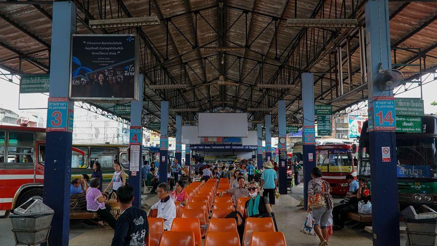 Cómo ir de Chiang Mai a Chiang Rai - Estación de autobuses Chiang Rai