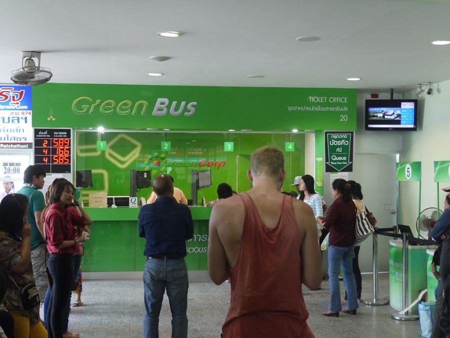 Cómo ir de Chiang Mai a Chiang Rai - Green Bus