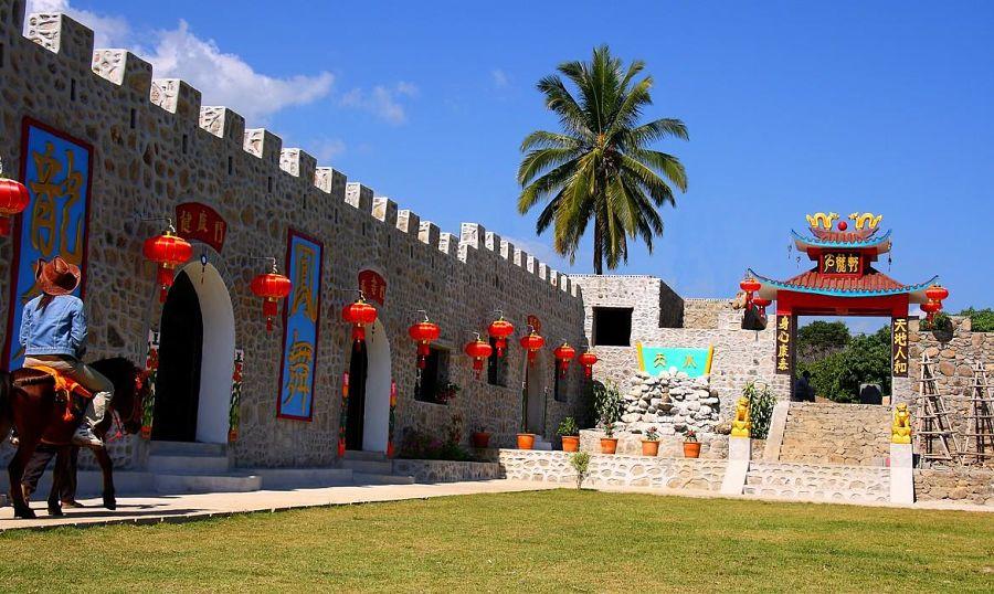 El Pueblo Chino de Pai - Santichon Village - Muralla