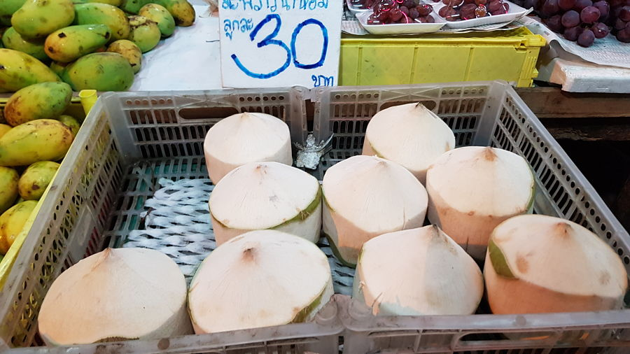 Frutas Tropicales de Tailandia - Coco