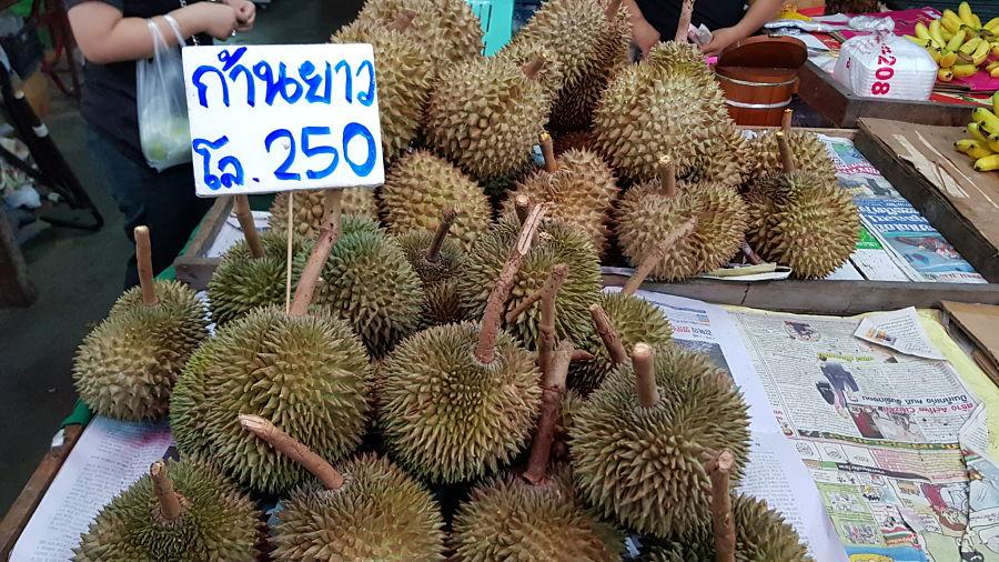 Frutas Tropicales de Tailandia - Durian