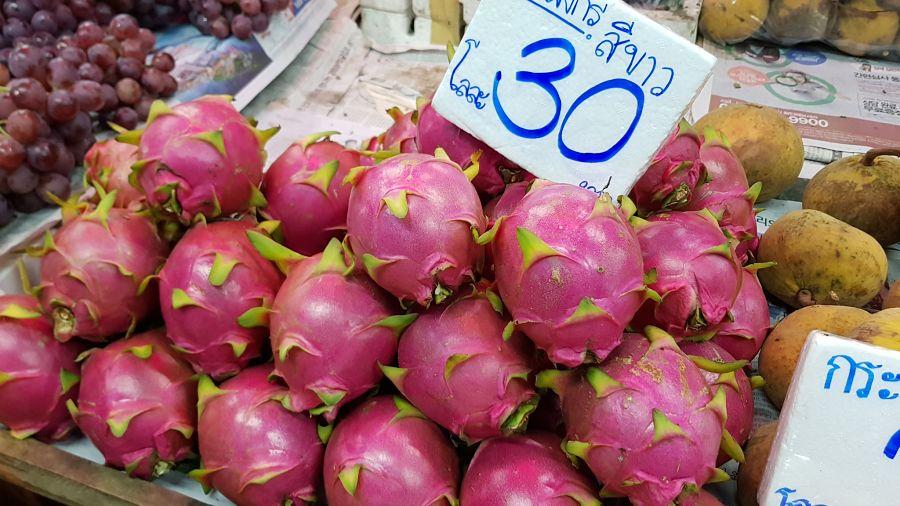 Frutas Tropicales de Tailandia - Fruta del Dragón