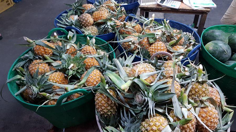 Frutas Tropicales de Tailandia - Piña