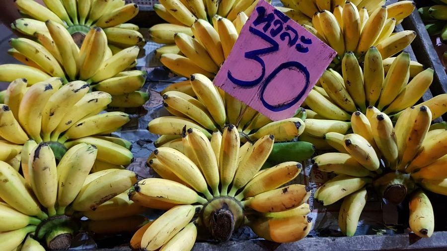 Frutas Tropicales de Tailandia - Plátano