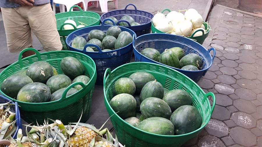 Frutas Tropicales de Tailandia - Sandías